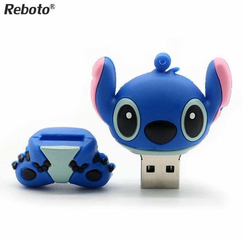 8Gb Flash Drive Memory Stick Clé USB 2.0 Stitch 8Go