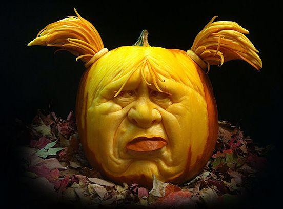 30 Realistic Pumpkin Faces For Helloween The Design Inspiration Halloween Pumpkins Carvings Creative Pumpkin Carving Pumpkin Carving