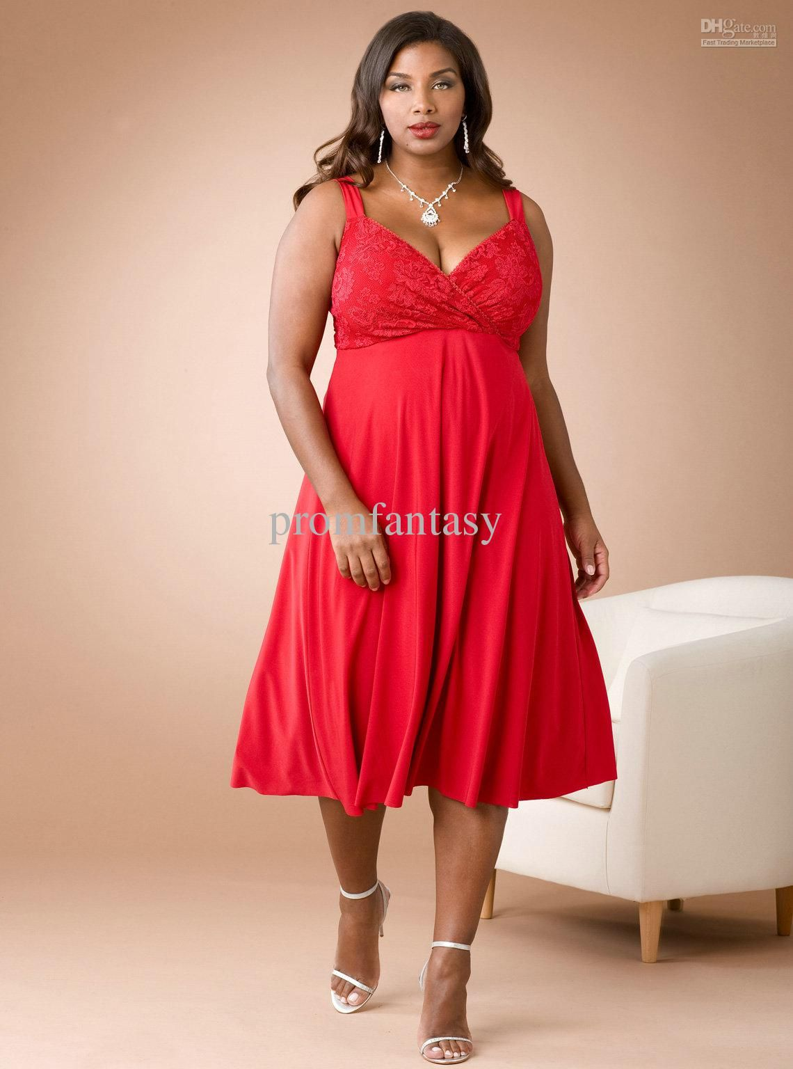 2016 Cheap Sweetheart Neckline Red Chiffon A Line Knee Length Plus Size Evening Party Formal Dresses White Prom Dress Cheap Cocktail Dresses From Promfantasy Plus Size Red Dress Bridesmaid Dresses