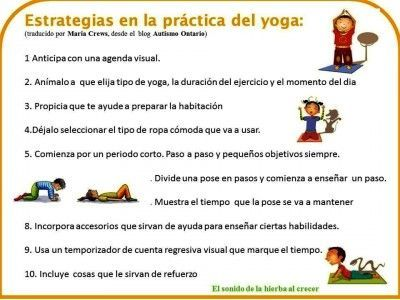 estrategias yoga estrategias salud infantil pdf yoga in