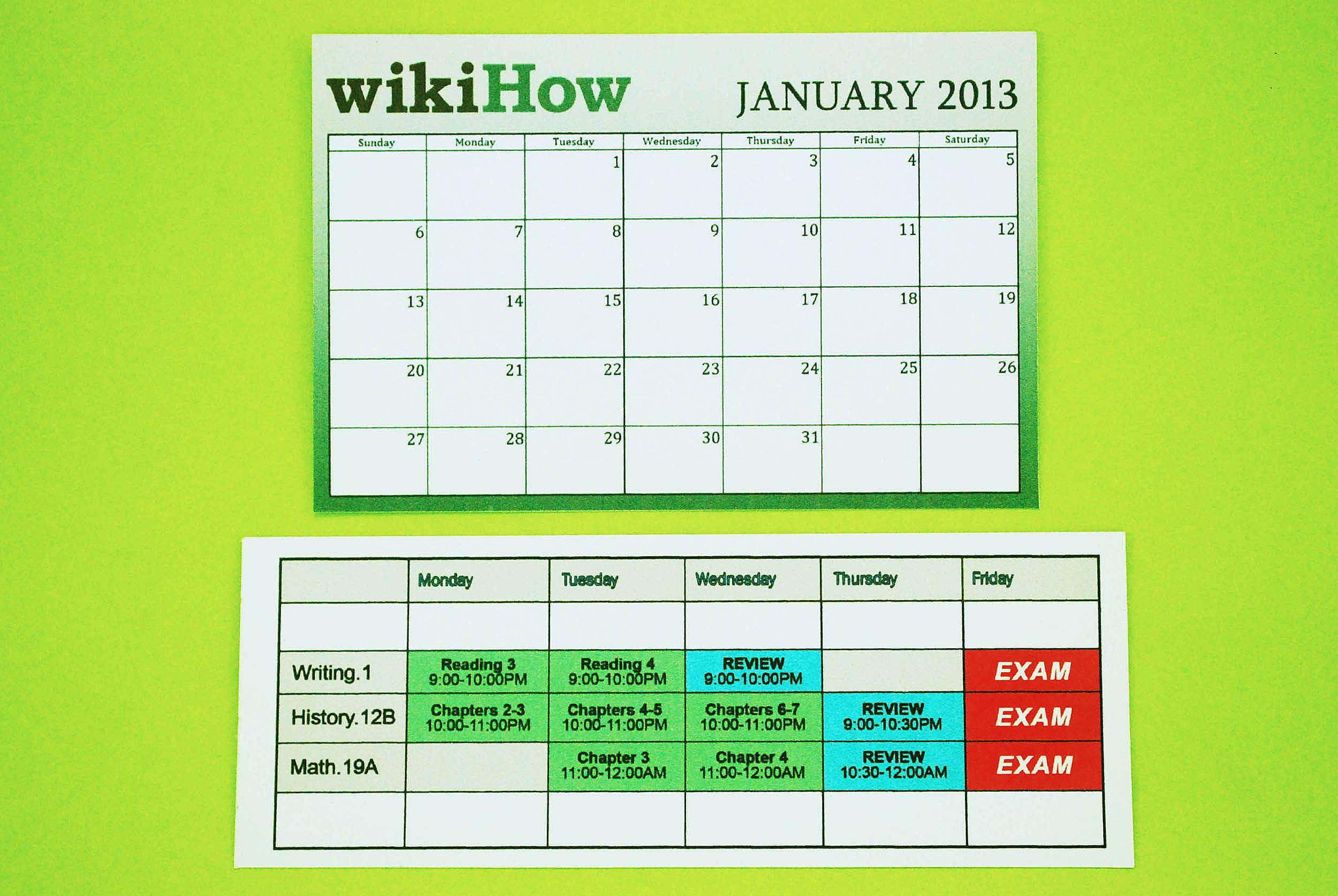 Create A Study Schedule  Study Schedule School And Academic Success