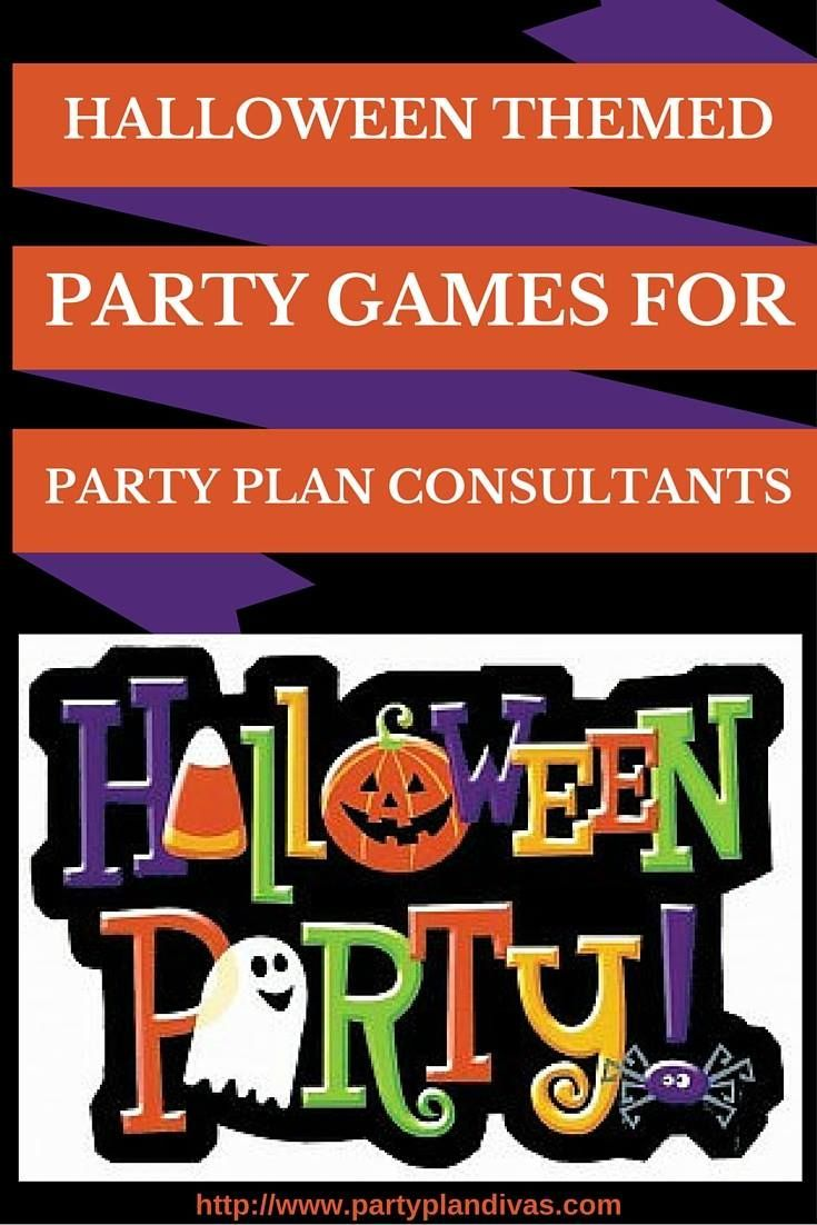 Halloween Themed Party Games for Party Plan Consultants | Business ...