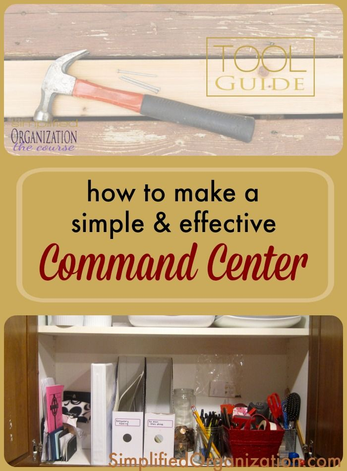 Attractive Use What You Have To Create Your Own Kitchen Command Center And Get  Organized.