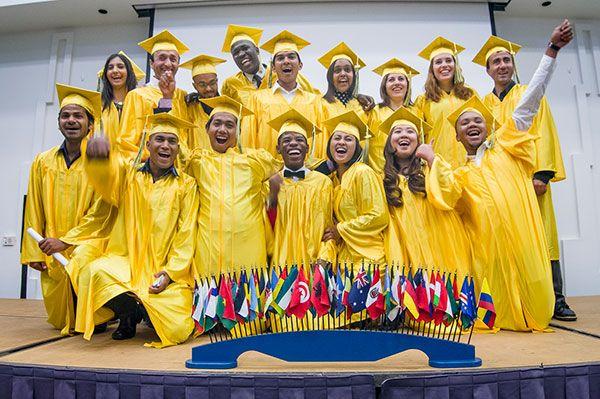 Community College Initiative Program (CCIP) International Students graduation 2013. Global Trust Scholars.