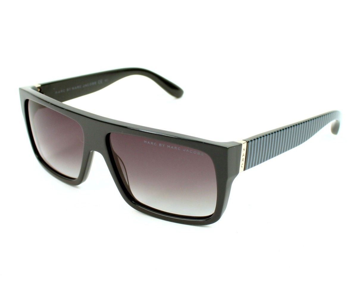 840f061e0fd8d7 Marc by Marc Jacobs Mens sunglasses. Reference MMJ096 S BW75M - 57, frame  in Acetate colour Grey with Gradient Grey lenses and UV protection  2.
