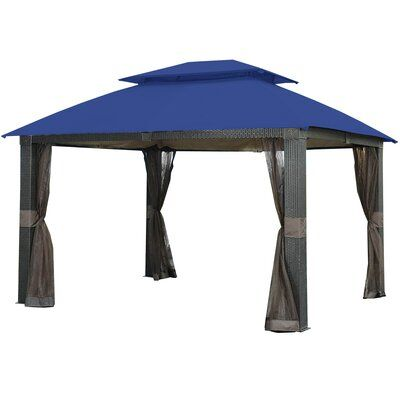 Garden Winds Revella Gazebo Replacement Canopy Gazebo Replacement Canopy Replacement Canopy Gazebo