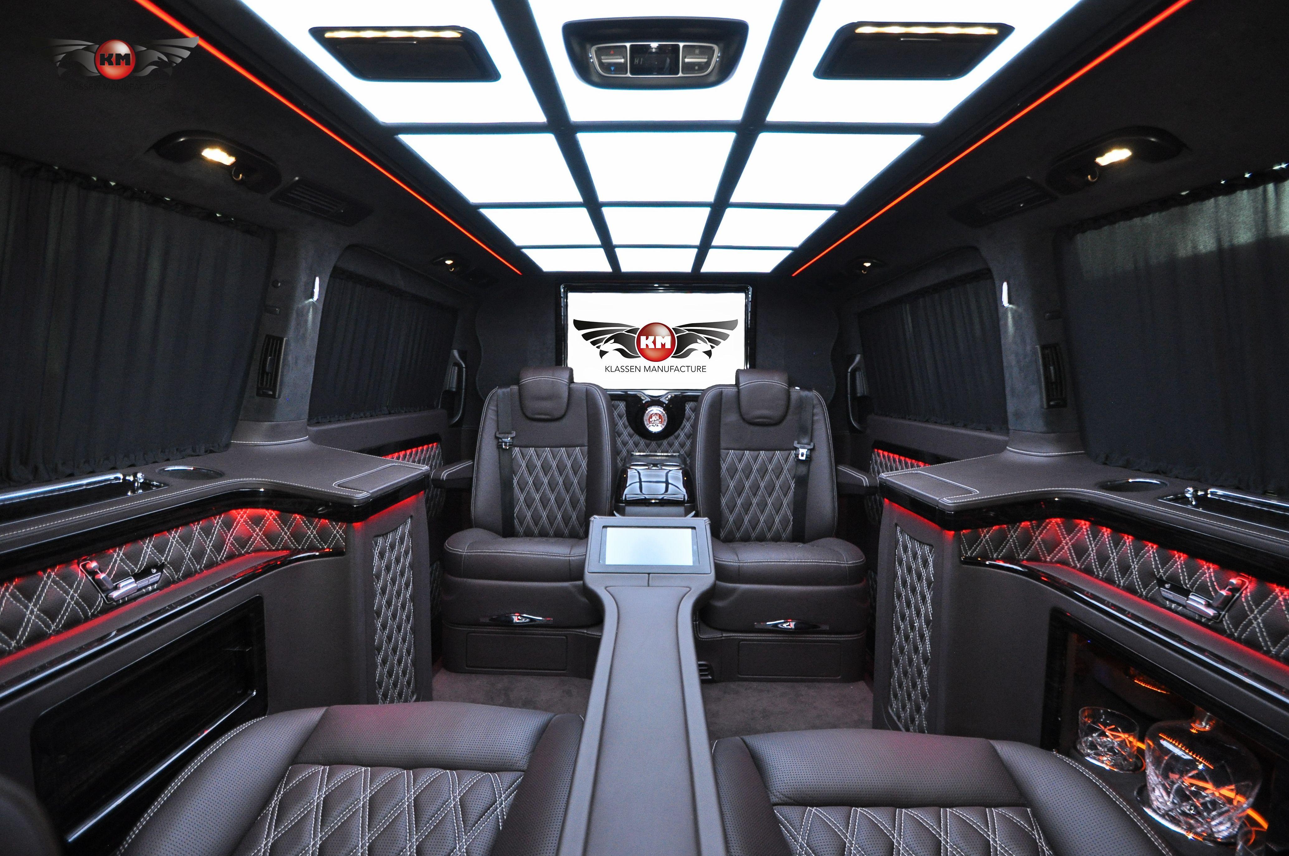 Klassen Manufacture Luxury Vip Cars And Vans With German Quality