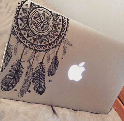 Laptop case stickers by Eliany Pino on Laptop Cases Mac