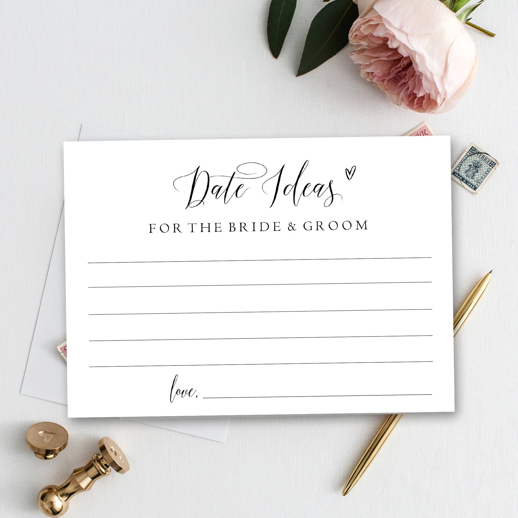 Dating idea cards