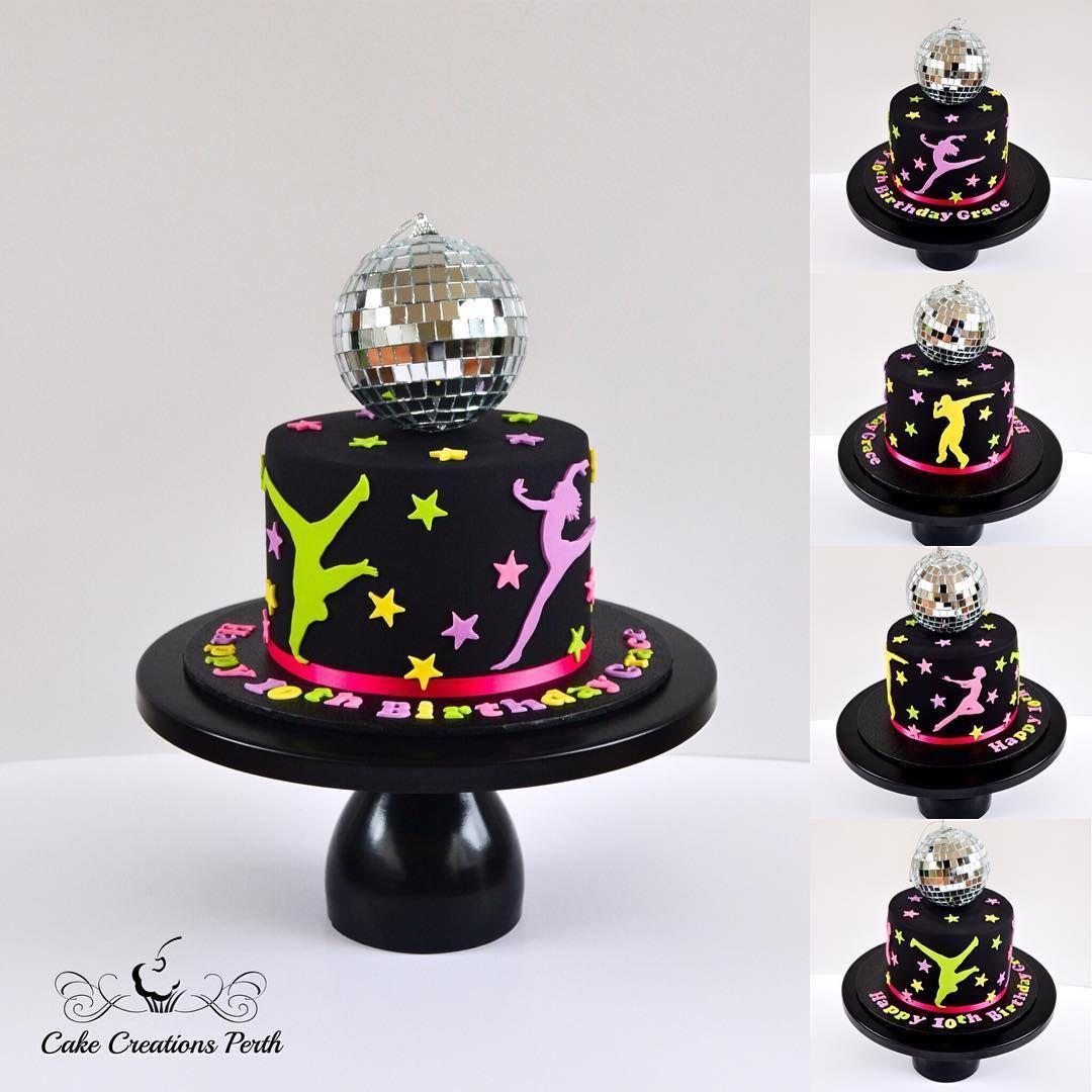 Disco themed birthday cake themed birthday cakes cake
