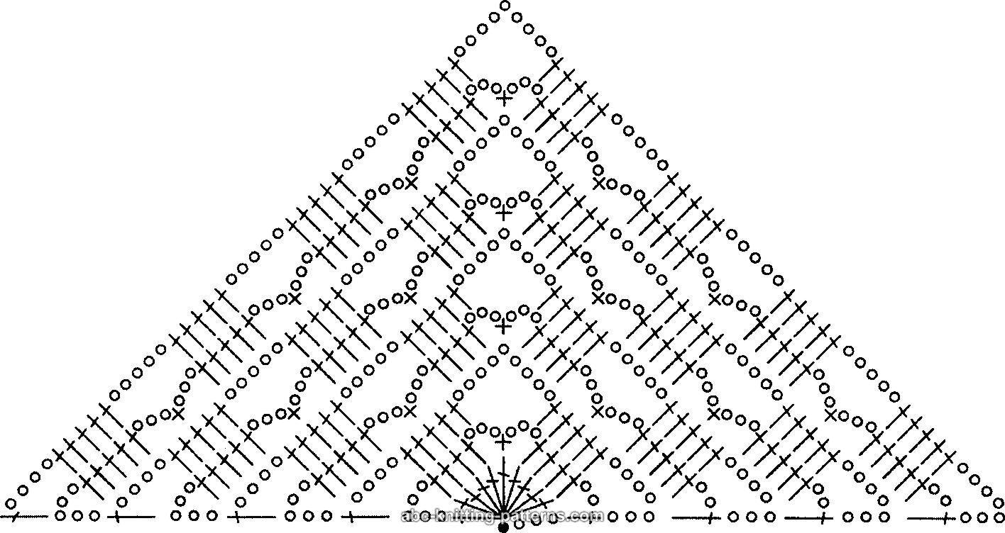 crochet shawl patterns - triangle | More Information | Crochet ...