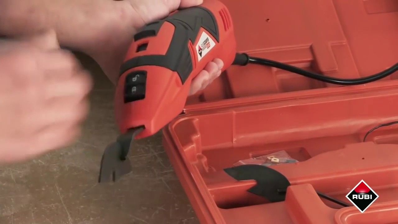 Electric Grout Removal Tool - The Rubi Scraper 250 | Tool