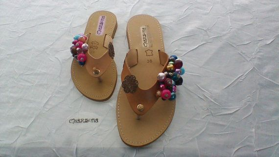 Handmade Ladies & Kids Sandals by CharismaJewellery on Etsy, €48.00