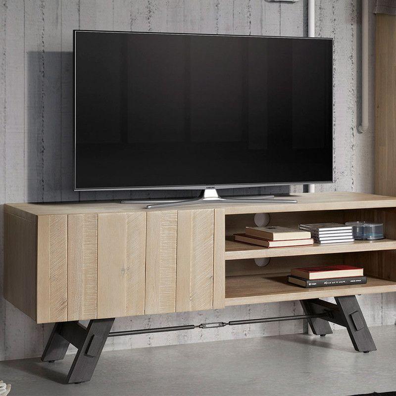 Muebles tv mueble de dise o n rdico storage - Mueble nordico madrid ...