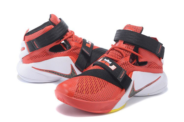 Nike LeBron Soldier 9 Basketball Sneakers Men's Size 9.5