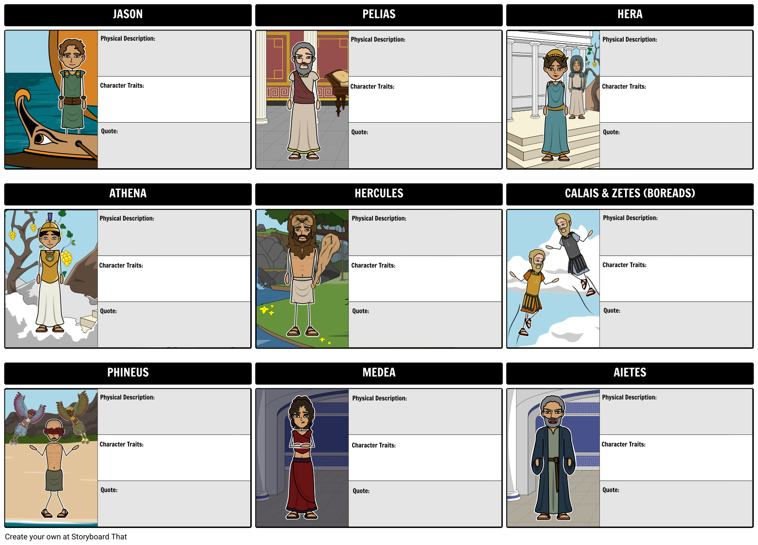 Jason and the golden fleece characters keeping track of jason and the golden fleece characters keeping track of characters in greek mythology can be biocorpaavc Choice Image
