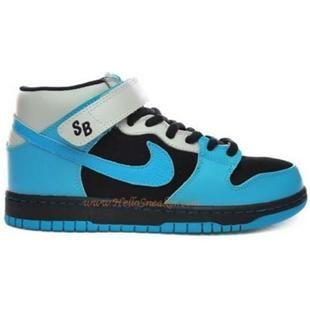Aqua · 314383 041 Nike Dunk Mid Pro SB Aqua Fuel Black Aqua Blue K05013