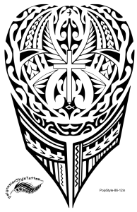 Christian Polynesian Tribal Flame Tattoo Design For Leg Or Arm The Eternal Flame Of Life All Tattoo Desig Maori Tattoo Designs Maori Tattoo Lower Back Tattoos