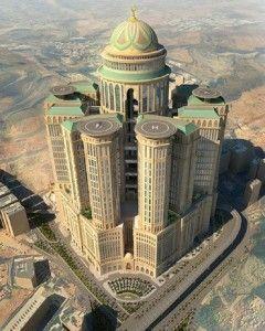 مشروع ابراج كدي مكة المكرمة على موعد مع افتتاح اكبر فندق في العالم Amazing Architecture View Photos Grand Mosque