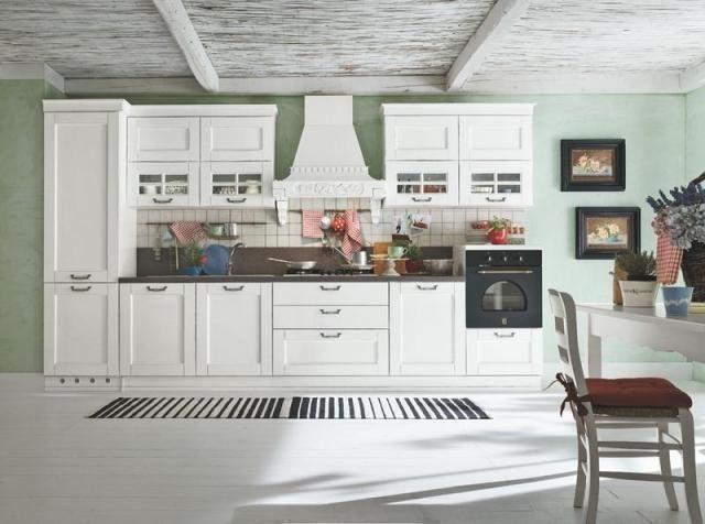 cucine classiche bianche - Cerca con Google   Casa   Pinterest ...