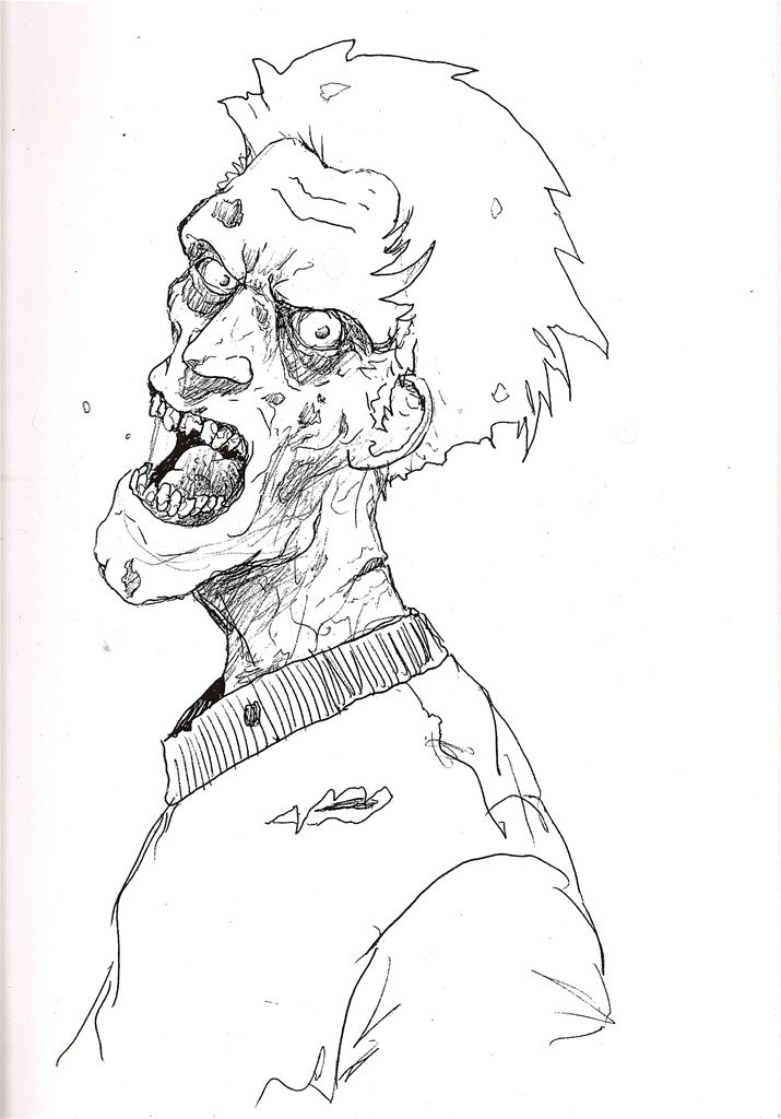 Free Zombie Printable Coloring Pages | Fall/Halloween | Pinterest ...
