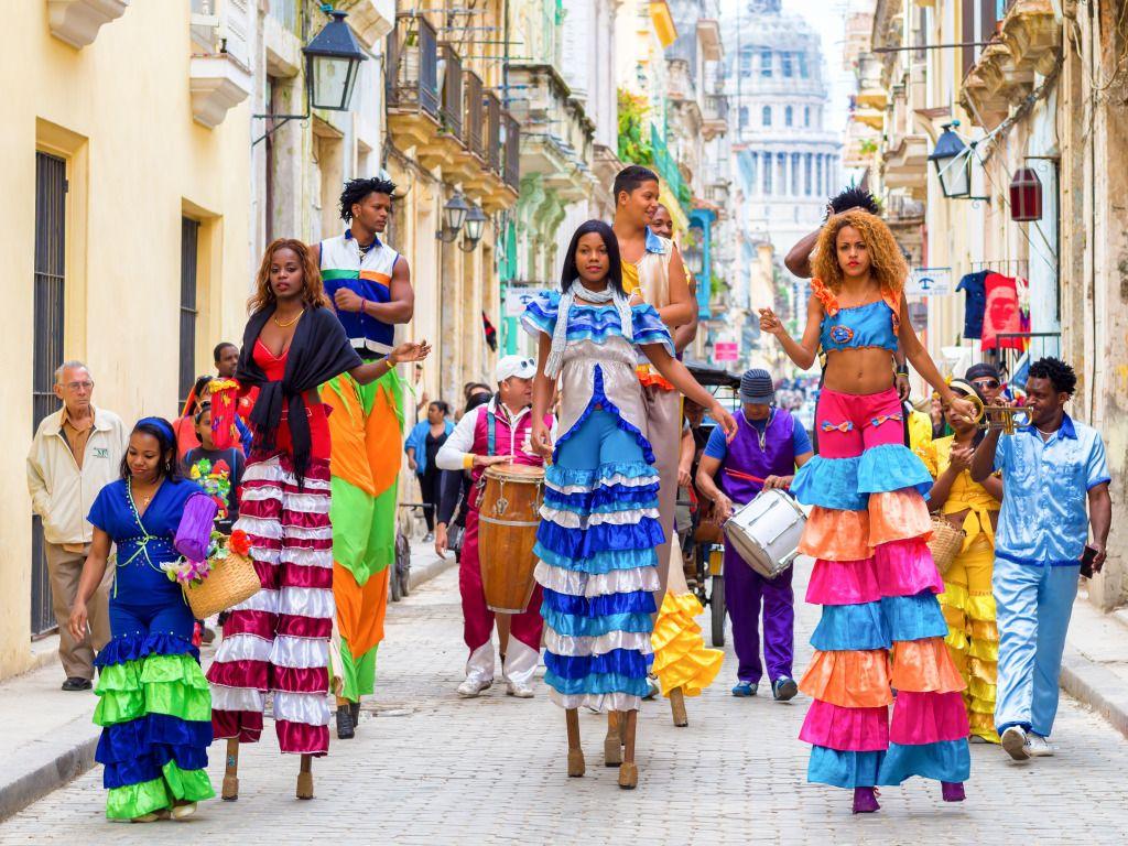 Carnival in Havana, Cuba jigsaw puzzle in People puzzles ...