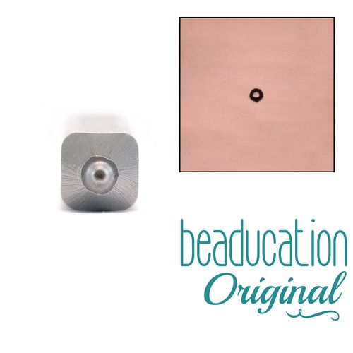 Degrees Symbol Or Circle Metal Design Stamp 1mm Beaducation