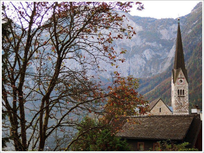 Storybook city: Hallstatt, Austria