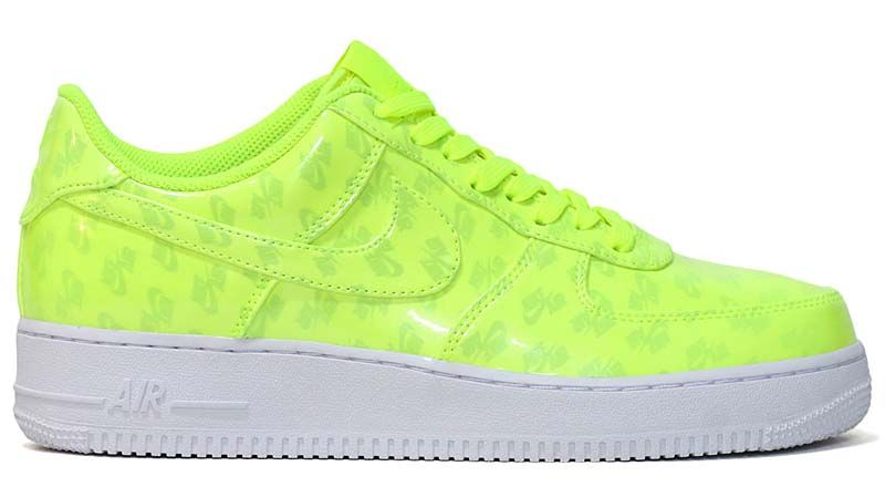 NIKE AIR FORCE 1 07 LV8 UV  VOLT   VOLT-WHITE-WHITE  aj9505-700 ... eff1ac046