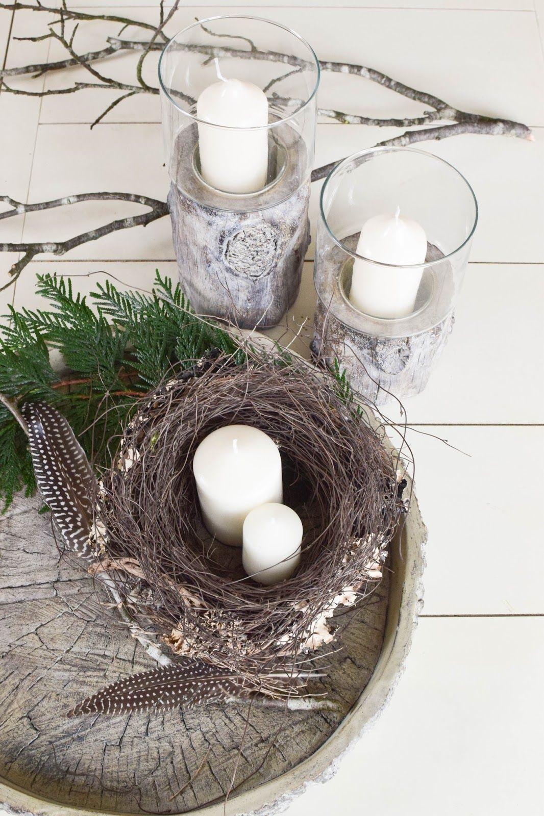 2 kreative diy schalen winterliche deko f r euren tisch nat rlich dekorieren diy deko und. Black Bedroom Furniture Sets. Home Design Ideas