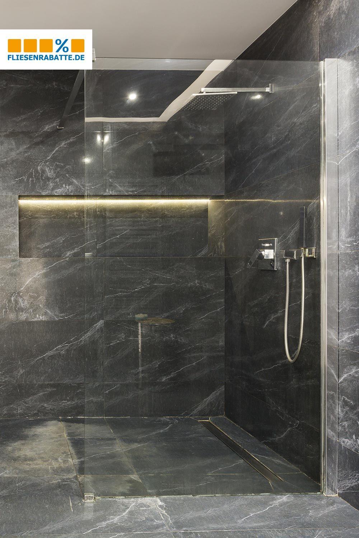 Margres Prestige Emperador Black Bodenfliese 45x90cm 49pt5 Pl Luxusbadezimmer Dunkle Badezimmer Badezimmer Fliesen