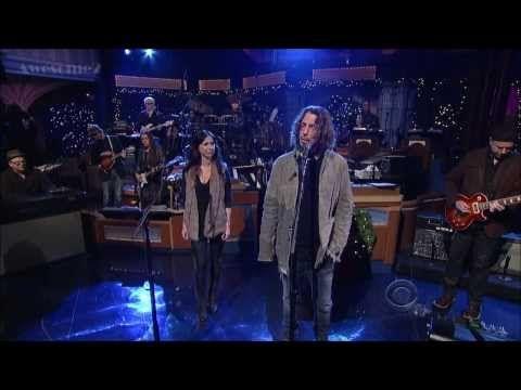 [HD] Chris Cornell - Misery Chain (Feat. Joy Williams) - David Letterman 12-16-13