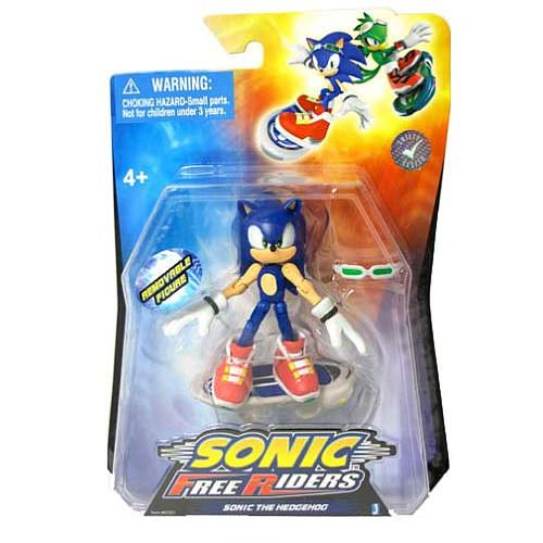 Toys R Us Babies R Us Sonic Free Riders Action Figures Sonic