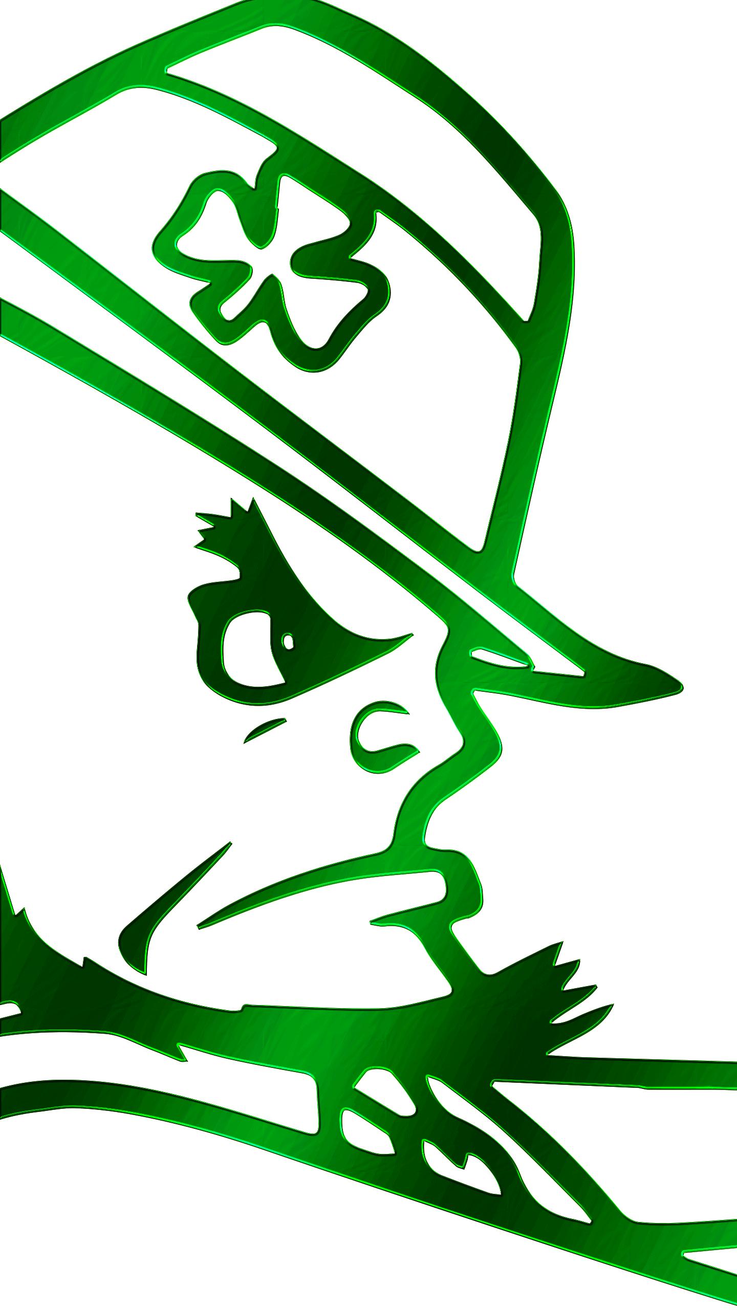 Notre Dame Leprechaun Wallpaper