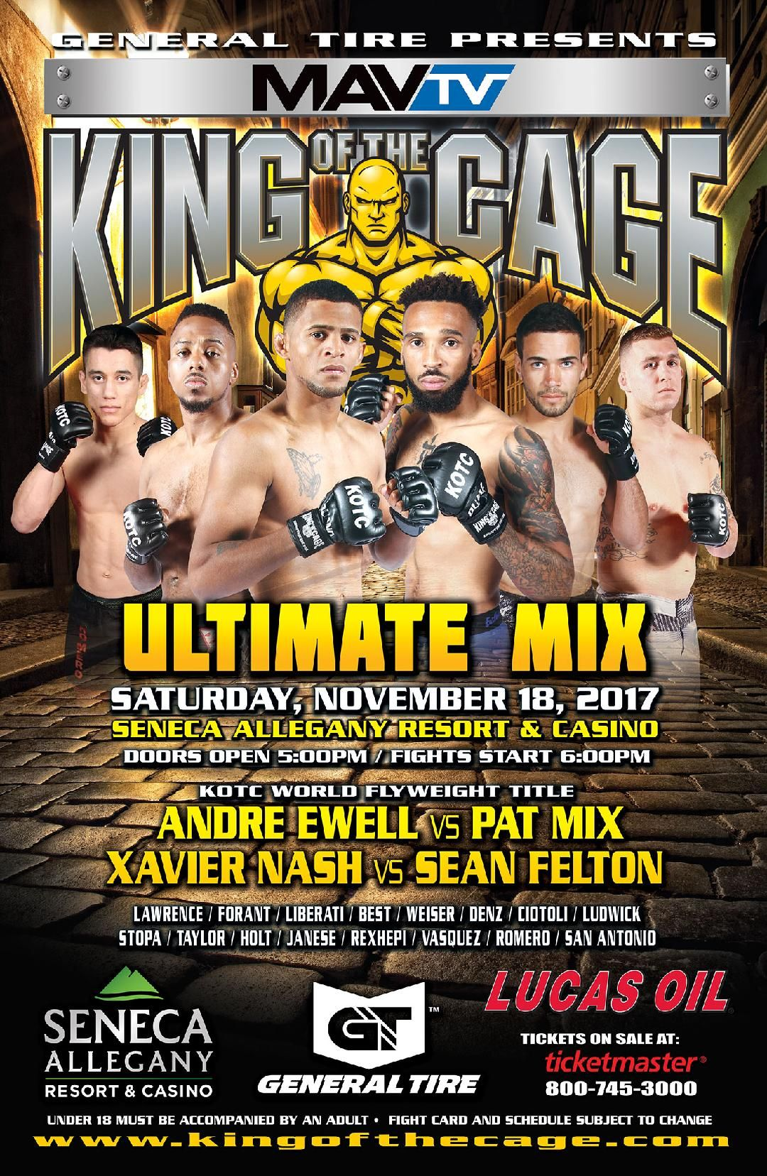 King Of The Cage Returning To Soboba Casino In March
