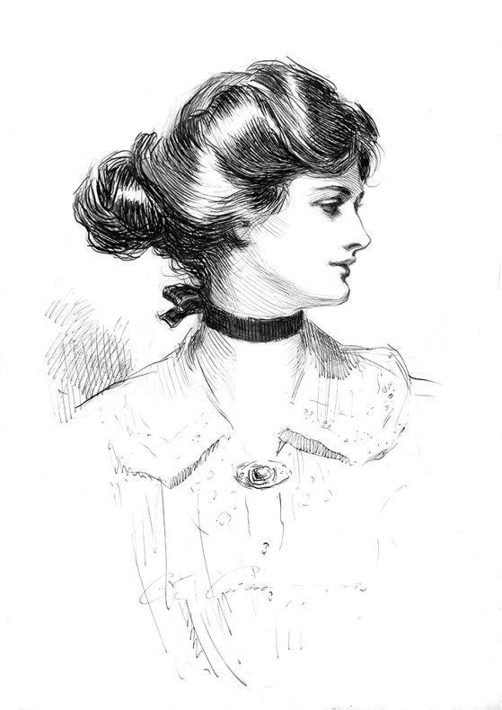 Connaissezvous la Gibson Girl ? Symbole de la jeune