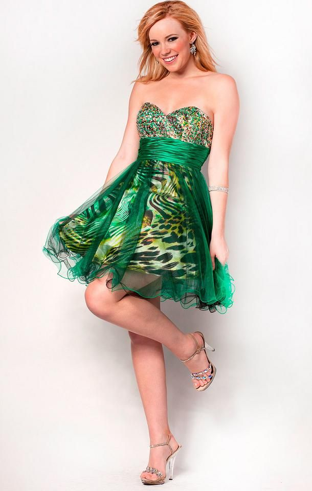 Noble Mesh Over Print #NinaCanacci Style 15999 made for #Prom $178.00