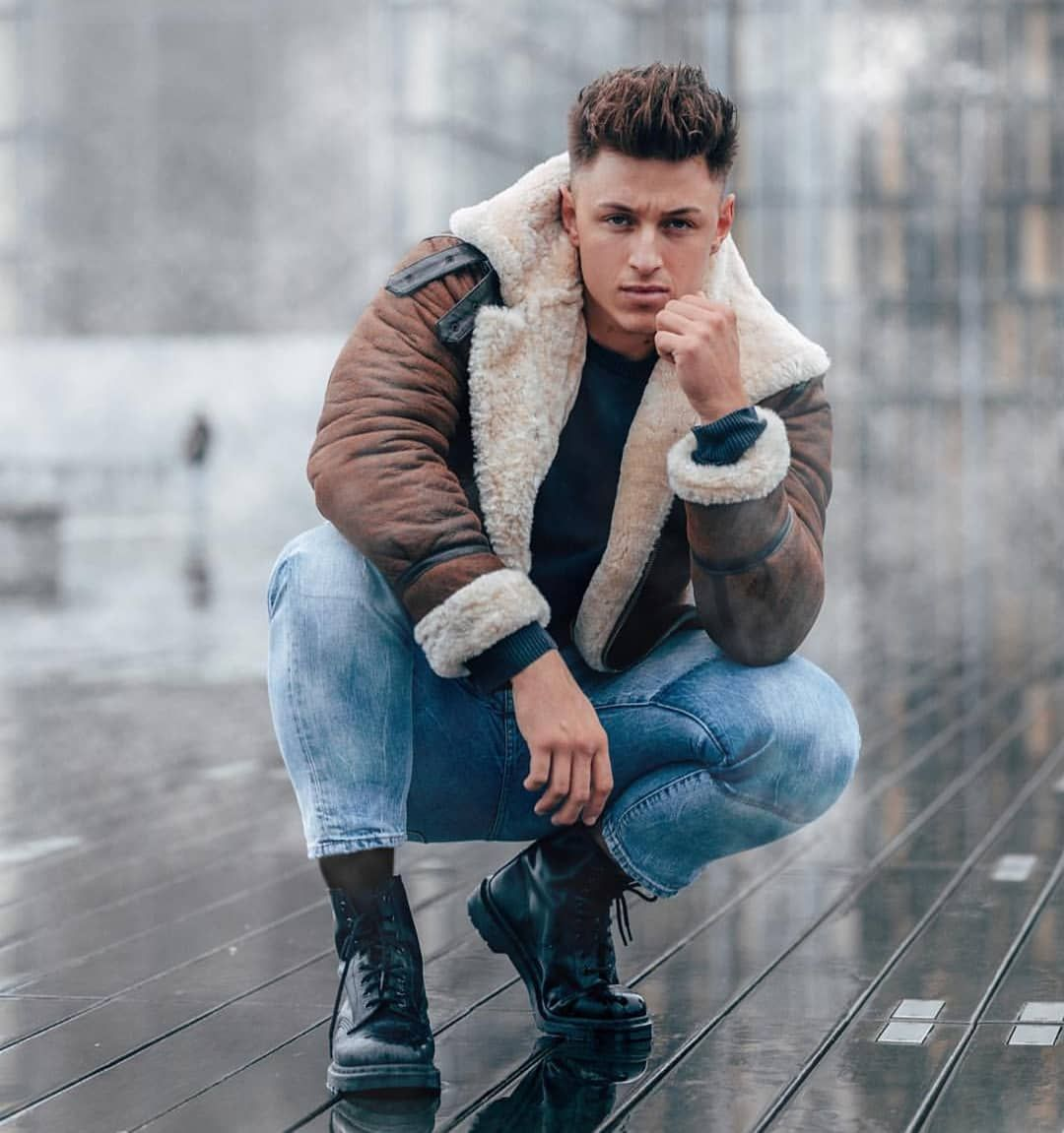 Pin By Ted M On Men In Fur / Shearling