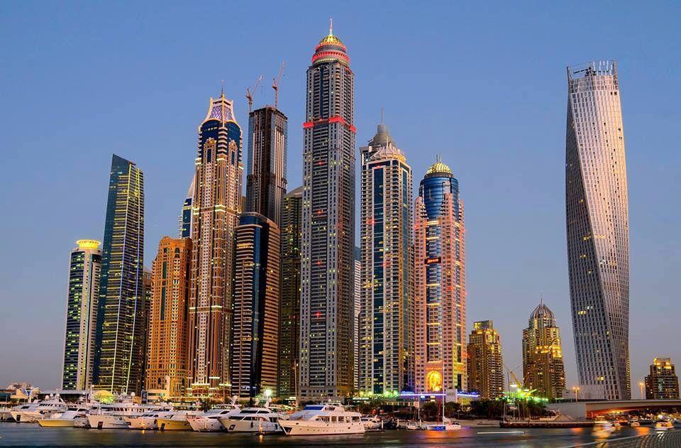 Dubai UAE Tallest block on this planet
