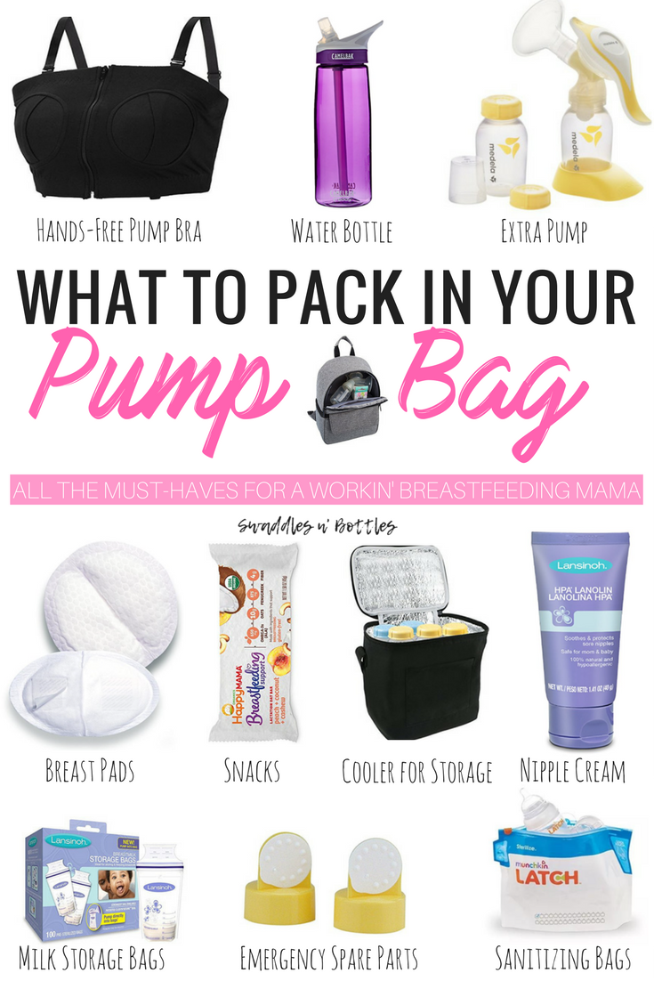 What To Pack In Your Pump Bag When You Return Work Full Time Tfeeding Mama Must Read Tips Help Increase And Maintain Milk Supply While Pumping