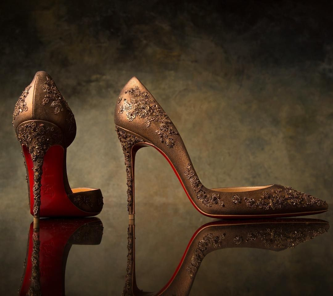 christian louboutin and sabyasachi shoes