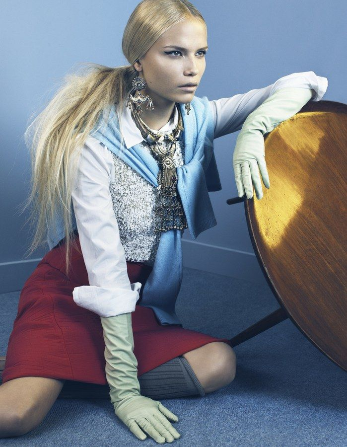 Natasha Poly by Emma Summerton for i-D Magazine October 2008 4 | We are so Droeë