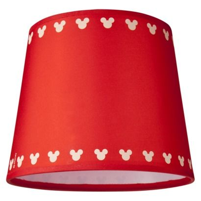 Mickey Mouse Lamp Shade At Target!