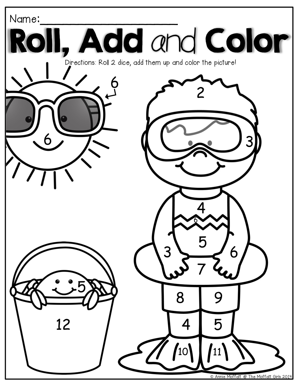 Summer Packet No Prep Review Kindergarten