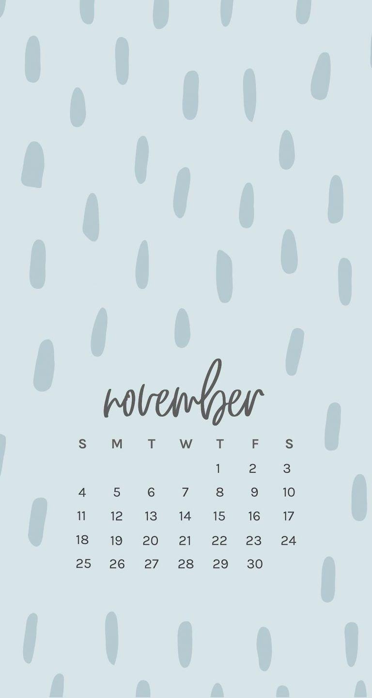 Free November 2018 Iphone Calendar Wallpapers Calendar Wallpaper Iphone Wallpaper November Print Calendar