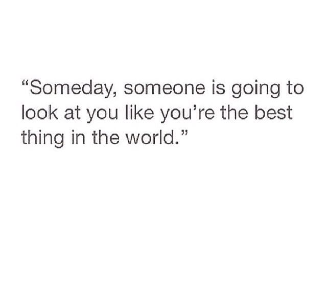 Someday that someday will come