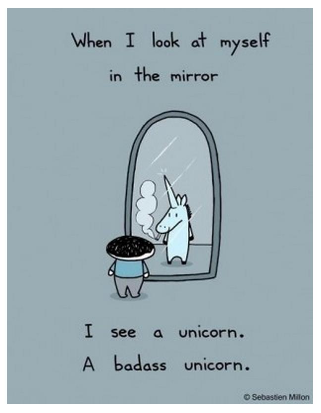Funny Unicorn Quotes 7 Funny Unicorn Quotes To Make You Smile   Karen Salmansohn  Funny Unicorn Quotes
