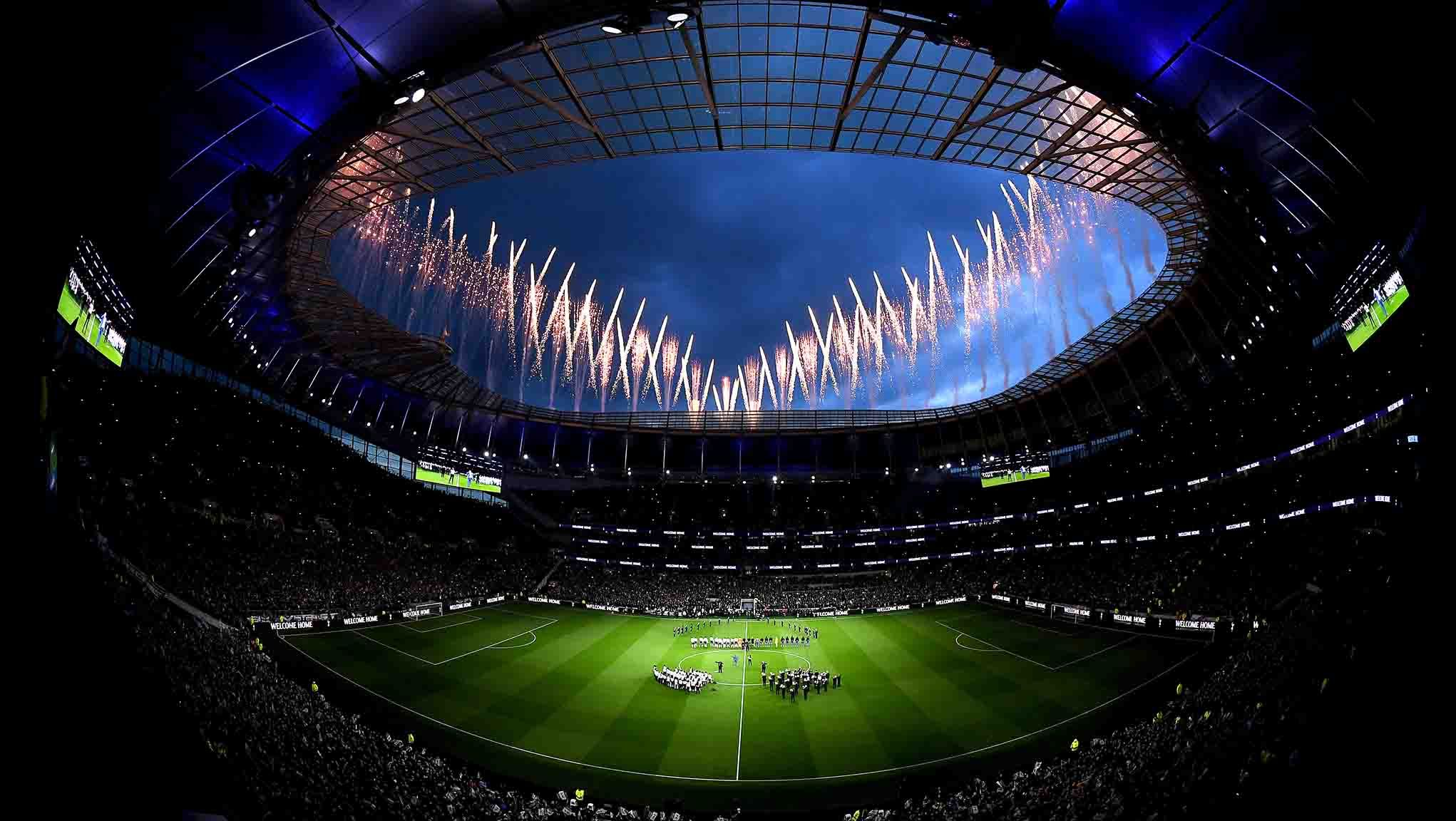 New Tottenham Stadium To Stage Rugby Cup Finals In 2021 In 2020 Tottenham Hotspur Tottenham Stadium Design