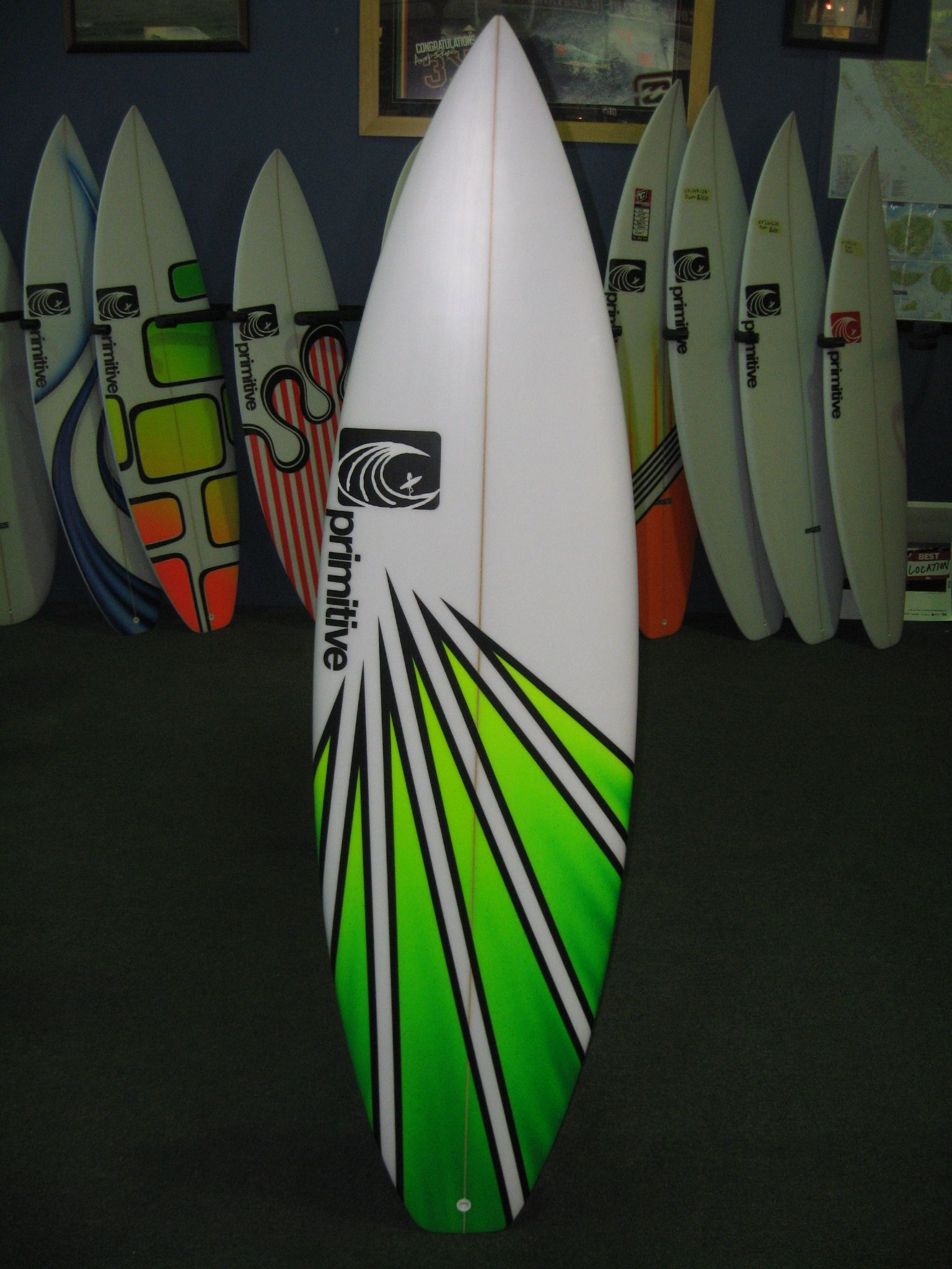 Showcasing Some Surf Board Designs And Surf Board Decor, Fashion