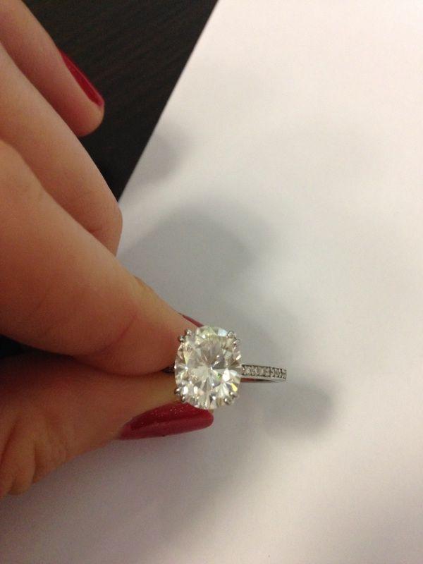 where can i sell my 375 carat custom moissanite ring weddingbee - Sell My Wedding Ring